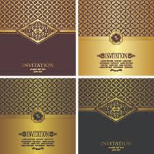 Business Invitation Card Format Business Invitation Card Background Design Free Vector