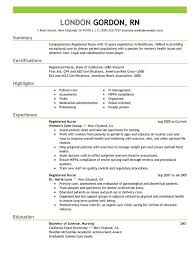 Resume Examples 2016 Classy Best Of Nursing Resume Examples 60 Resume Ideas