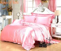 light pink bedding set cotton sheets king queen within duvet cover twin comforter bed