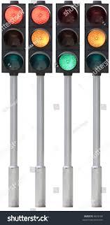 Traffic Light Pole Isolated Traffic Light On Pole All Stock Photo Edit Now
