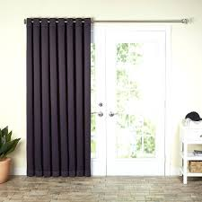 patio panel curtain patio door