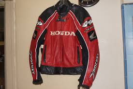 joe rocket honda cbr racing leather jacket 44 motorcycle 1 of 8only 2 available