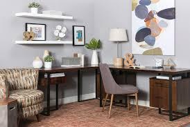 Living Room With Desk Reid Writing Desk Return Living Spaces