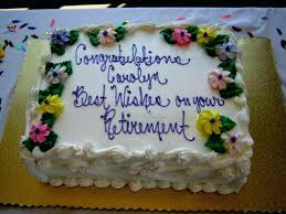 Retirement Party Cake Ideas Funny Retirement Cake Say Ideas For