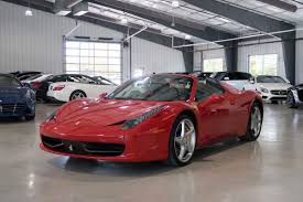 The spider has an aluminium hard top that is lighter than the traditional hard top or soft tops and is retractable in 14 seconds. 2014 Ferrari 458 Spider For Sale In Boerne Tx 2014 Ferrari 458 Spider Dealer In Boerne Tx 2014 Ferrari 458 Spider Specials In Boerne Tx 2014 Ferrari 458 Spider In Boerne Tx 2014 Ferrari 458 Spider For Sale Near Boerne Tx