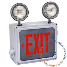 exit sign emergency light hazardous class 1 division 2 4 6