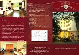 Brochures Templates Free Download Brochure Template Features Hotel Design Templates Free Download
