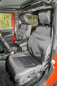 rugged ridge ballistic front seat covers for 07 18 jeep wrangler jk quadratec