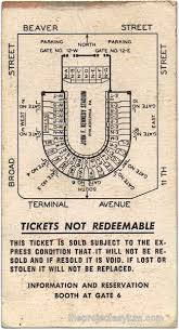 Notre Dame Stadium Detailed Seating Chart 1968 Notre Dame Vs Navy Game Ticket
