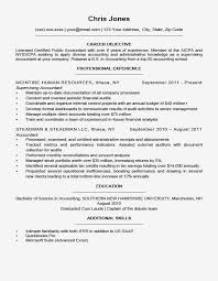 Example Career Objectives Examples Resume Cover Letter Objective