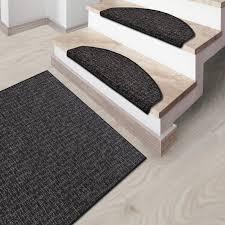 rug runner grey matching stair treads