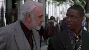 finding forrester review a reminder of sean connery s acting  sean connery and rob brown in finding forrester