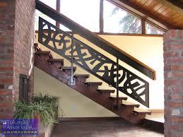 beautiful pattern of contemporary railings beautiful custom interior stairways