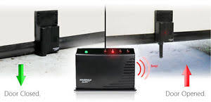 image is loading garage door opener alarm safety wireless audio monitor