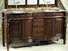 72 Inch Bathroom Vanity Double Sink Simple Decoration