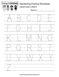 English Handwriting Practice Handwriting Practice Worksheet Free Kindergarten English