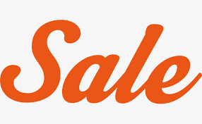sale word orange sale art words orange sale word art png image and clipart