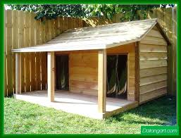 how to build a dog house with a porch free double dog house plans dog house
