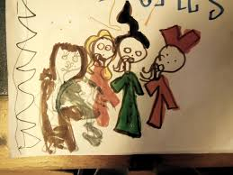 in this picture the witches are ing the life out of emily binx which occurs at the beginning of the not a bad artistic representation of bette