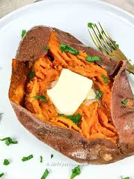 air fryer baked sweet potato recipe