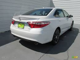2015 Blizzard Pearl White Toyota Camry XSE V6 #104676729 Photo #4 ...
