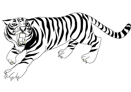 Small Picture awesome tiger coloring page 42 click to see printable version of