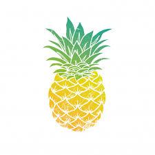 pineapple emoji png. pineapple modern illustration emoji png r