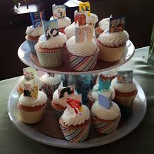Baby Shower Themed Cupcake Toppers