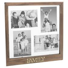 Photo of Rustic Collage Multi Family Photo Frame