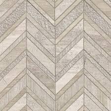 white quarry chevron pattern