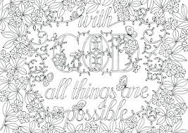Vibrant Creative Bible Verse Coloring Pages For Adults Scripture