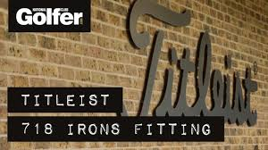 Titleist Fitting Chart Titleist 718 Irons Fitting Which Models Did We Get