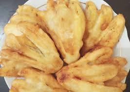 Berikut ini prosedur cara membuat pisang goreng dalam bahasa inggris dan terjemahannya dalam bahasa indonesia, serta gambar, alat dan resep untuk membuat pisang bahan untuk membuat 20 potong pisang goreng sederhana: Resep Selera Pisang Goreng