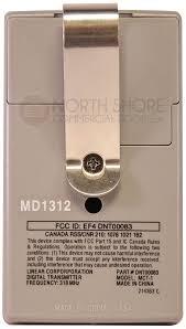 liga code mct 1 dnt00083 1 channel visor transmitter gate garage door