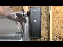 liftmaster side mount garage door openerLiftMaster 8500 Residential JackShaft Garage Door Opener  YouTube