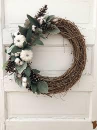 Wreaths By Design Walker La Handmade Fall Farmhouse Wreath For Neutral Lovers