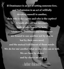 Submissive And Dominant Quotes