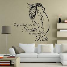 horse bedroom wall stickers