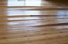 wood floor cupping
