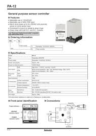 wiring diagram for npn and pnp 3 wire sensors and d2 16nd3 2 general purpose sensor controller