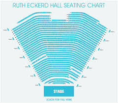 Ruth Eckerd Hall Seating Chart Seating Charts Ruth Eckerd Hall