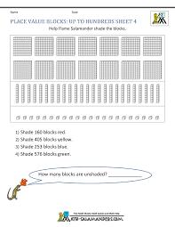 2nd Grade Place Value Worksheets