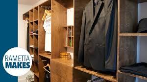 how to build a custom walk in closet diy part 1