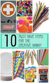 10 Must Have Items For The Creative Babysitting Bag