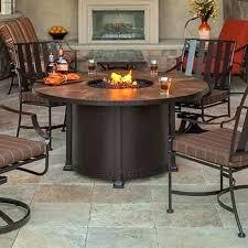 round fire pit table round fire pit table chic dining height fire table round dining height round fire pit