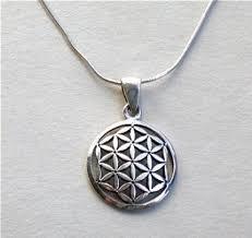 sterling silver original flower of life