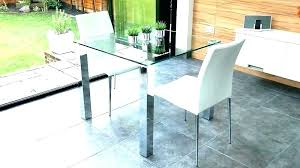 small glass dining table. Small Glass Kitchen Table Round Dining And 2 Chairs