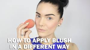how to apply blush in a diffe way linda hallberg makeup tutorial you