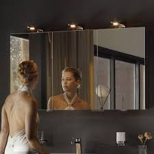 Bathroom mirror cabinets with lights Traditional Illuminated Bathroom Royal Universe Triple Mirrored Cabinet From Keuco Yliving Modern Medicine Cabinets Ikea Top 10 Best Modern Medicine Cabinets