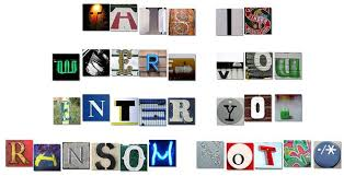 ransom letter generator ransom note generator a fun way to write a ransom note nbc daily